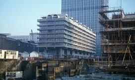 Barbican building site