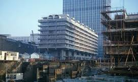 Barbican building site